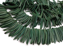 Load image into Gallery viewer, Green Wood Stick Beads - coconut indian stick 2 inch - 25pcs