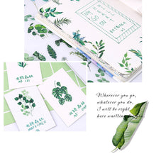 Load image into Gallery viewer, Green foliage sticker set - 6 sheets