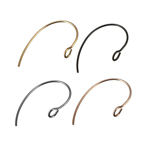 10pcs Stainless Steel Marquis earring hooks 16x25mm