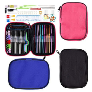 100pcs knitting case including 22 crochet needle hooks