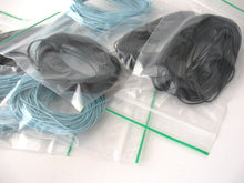 Load image into Gallery viewer, Black or Blue Bamboo Cord 1mm - 10 meters/32.8 ft