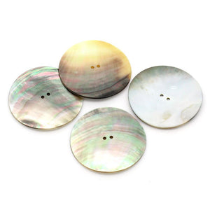 Large button 2 inch Big Mother of Pearl Shell Button 5cm