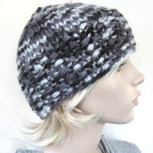 Load image into Gallery viewer, Easy Knitting Hat Pattern - Thick & Quick Bulky Hat tutorial PDF e pattern for adult