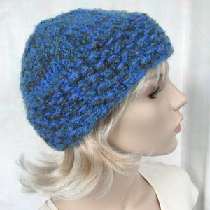 Easy Knitting Hat Pattern - Thick & Quick Bulky Hat tutorial PDF e pattern for adult