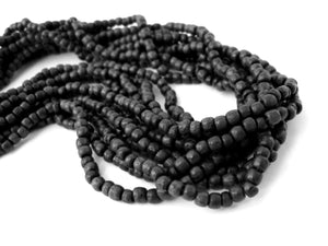 Black Wood Beads 3mm round 200pcs