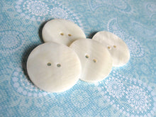 Load image into Gallery viewer, 1 inch MOP buttons - Mother of Pearl Shell Buttons 25mm