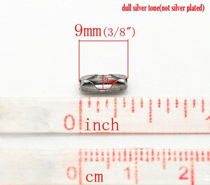 Stainless Steel Connector Clasps for Ball Chain 2.4mm - 10 or 50pcs bulk pack