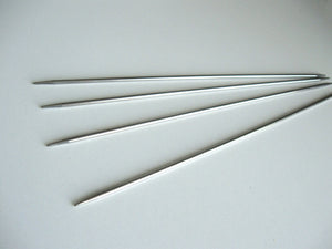 Stainless Steel Double Pointed Knitting Needles 2.75mm, 3mm or 3.25mm