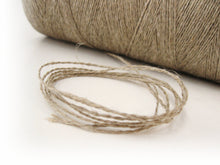 Load image into Gallery viewer, Cord Linen Natural - 10m