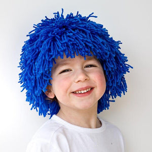 DIY Yarn Wig Sewing Pattern - Halloween kids costume wig tutorial PDF e pattern for children and adult