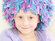 Load image into Gallery viewer, PDF sewing pattern yarn wig for party and costume