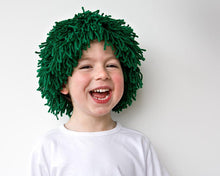 Load image into Gallery viewer, PDF Sewing Pattern St Patricks Day Green Costume Yarn wig for party costume