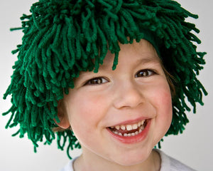PDF sewing pattern yarn wig for party and costume