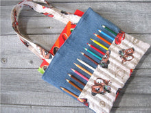 Load image into Gallery viewer, Kid bag sewing pattern DIY Coloring Bag tutorial PDF download ePattern