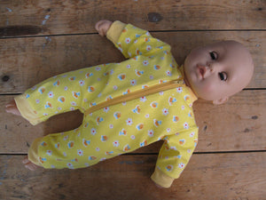 DIY Doll Pajama Sewing Patterns and Tutorial PDF download
