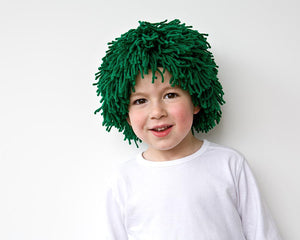 PDF Sewing Pattern St Patricks Day Green Costume Yarn wig for party costume