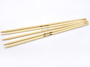 Wooden knitting needles - Bamboo DP Knitting Needle - 5 size available