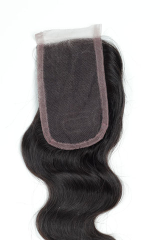 "16"" Swiss Lace Base Virgin Hair Closures"
