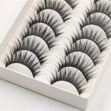 Load image into Gallery viewer, 10 Pair Thick Eyelashes