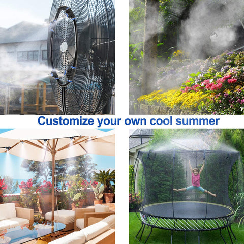 best outdoor misting system for home