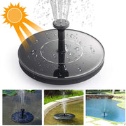 cheap solar garden fountain