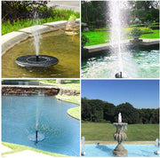 solar garden fountain irrigation watering garden decoration