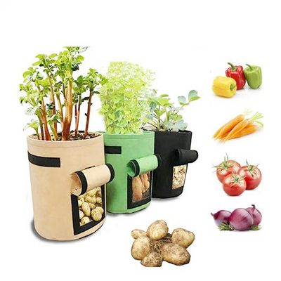 Garden Vegetable Grow Bags non-plastic