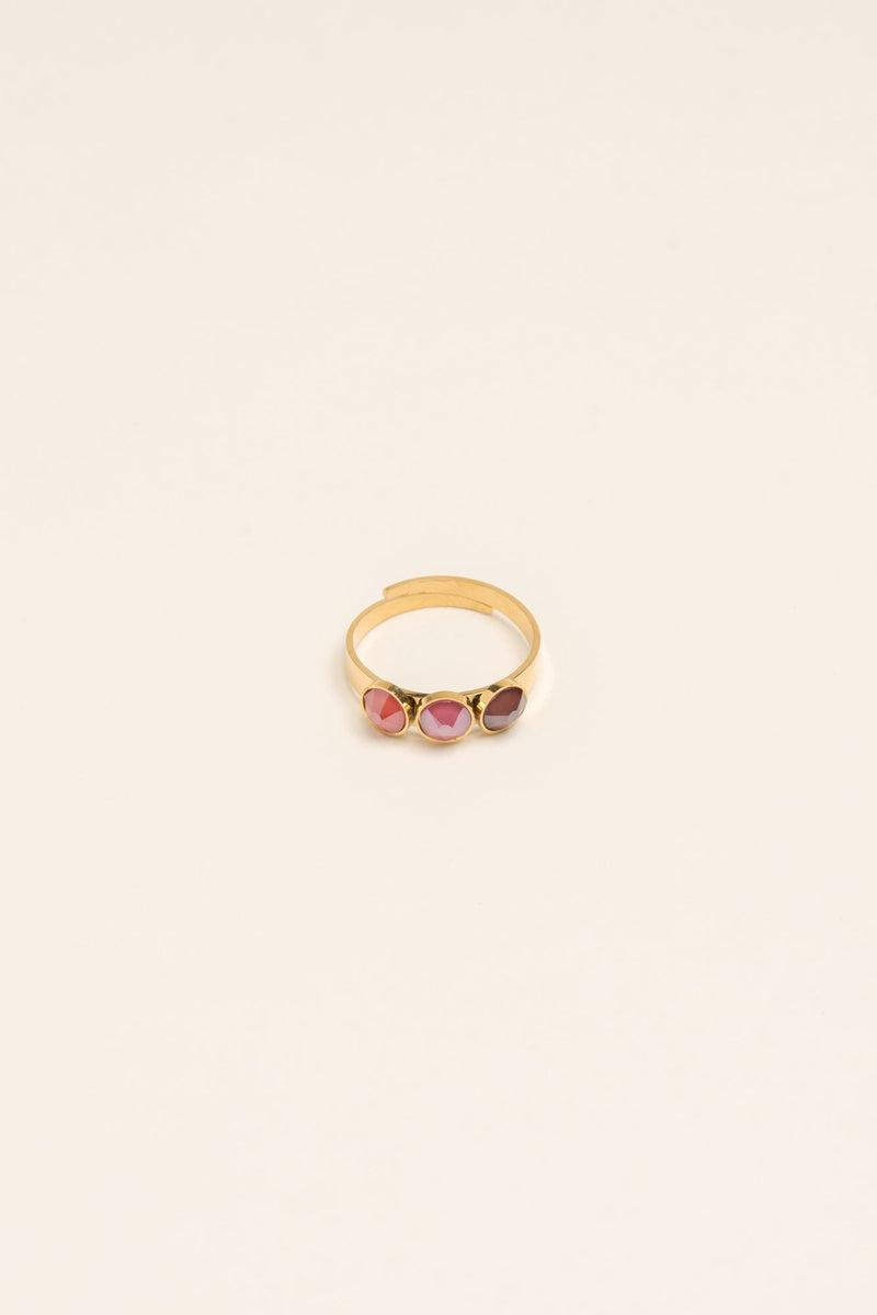 Bague Barbara Bague Bohm Paris rose fuchsia