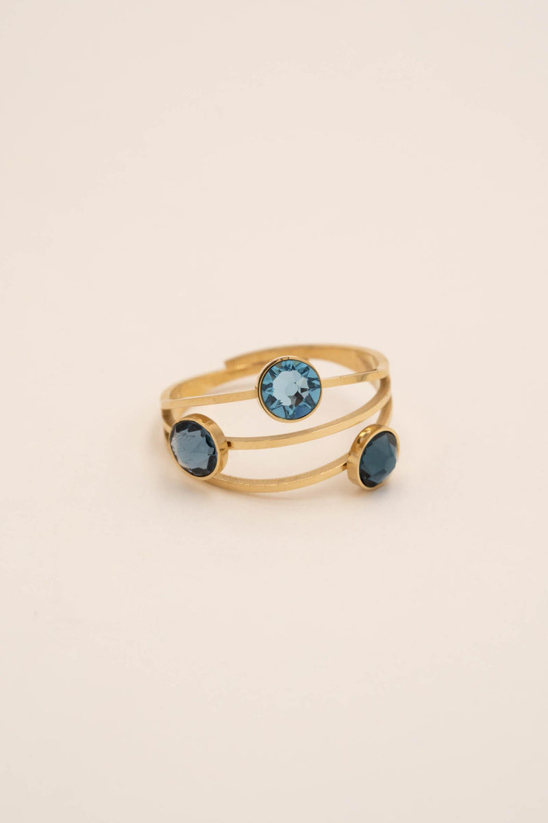 Bague Bella Bague Bohm Paris Bleu saphir