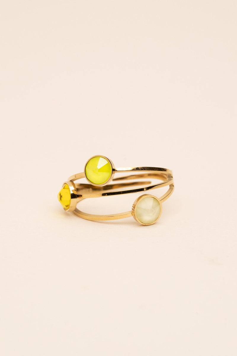 Bague Bella Bague Bohm Paris jaune eclair