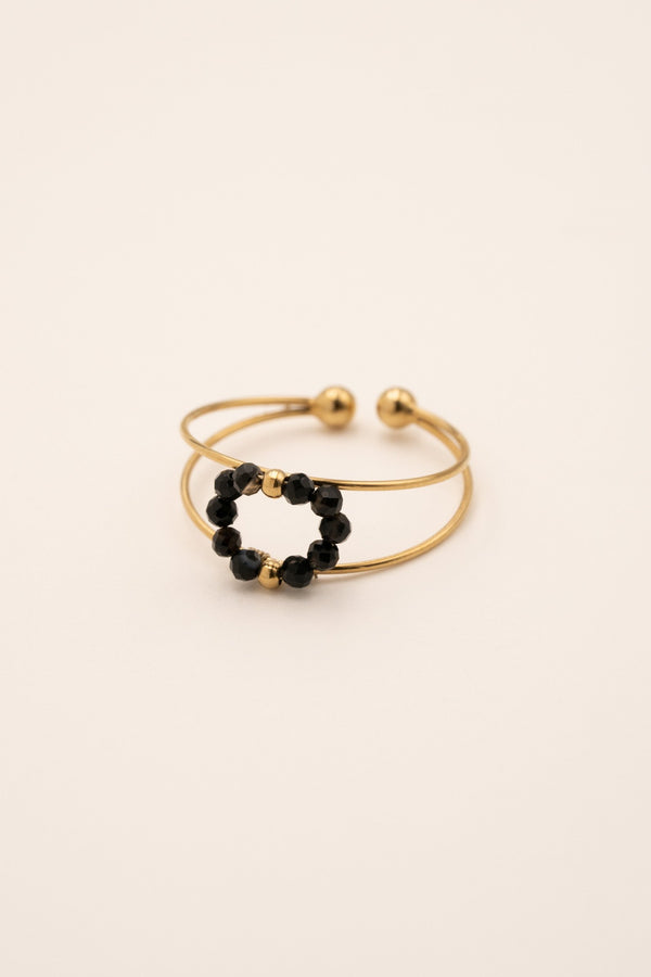 Bague Billy Bague Bohm Paris Agate noire