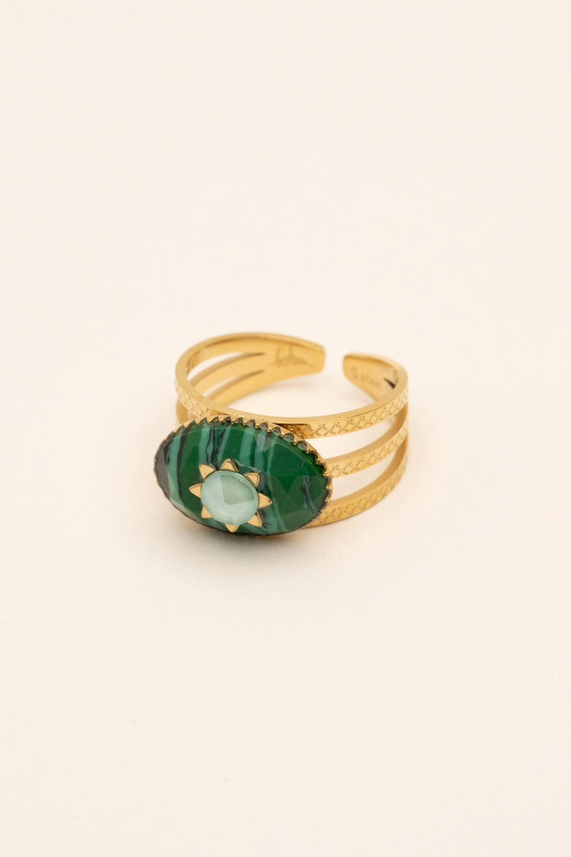 Bague Inaya Bague Bohm Paris malachite