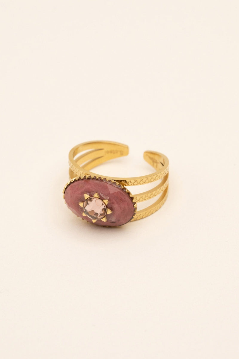 Bague Inaya Bague Bohm Paris rhodonite