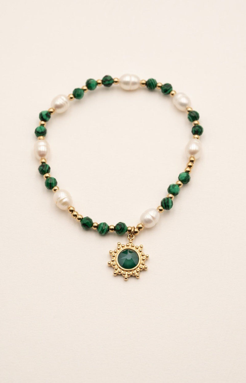 Bracelet Amonet Bracelet Bohm Paris Malachite