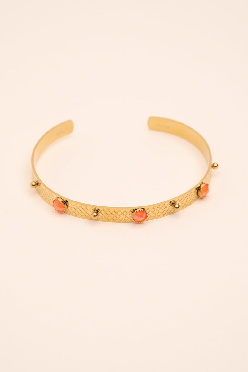 Bracelet Hanna Bracelet Bohm Paris Orange electric