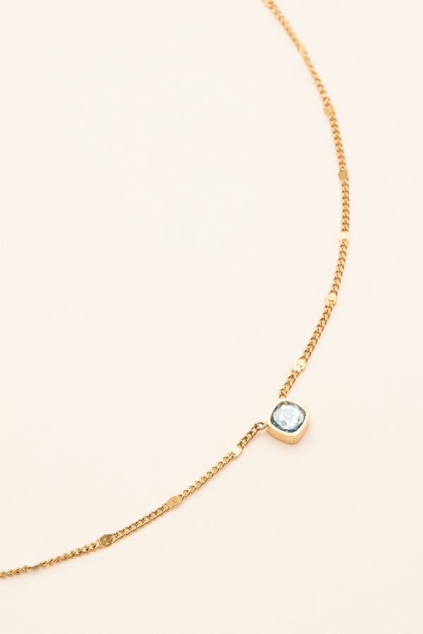 Collier Amael Collier Bohm Paris Bleu clair