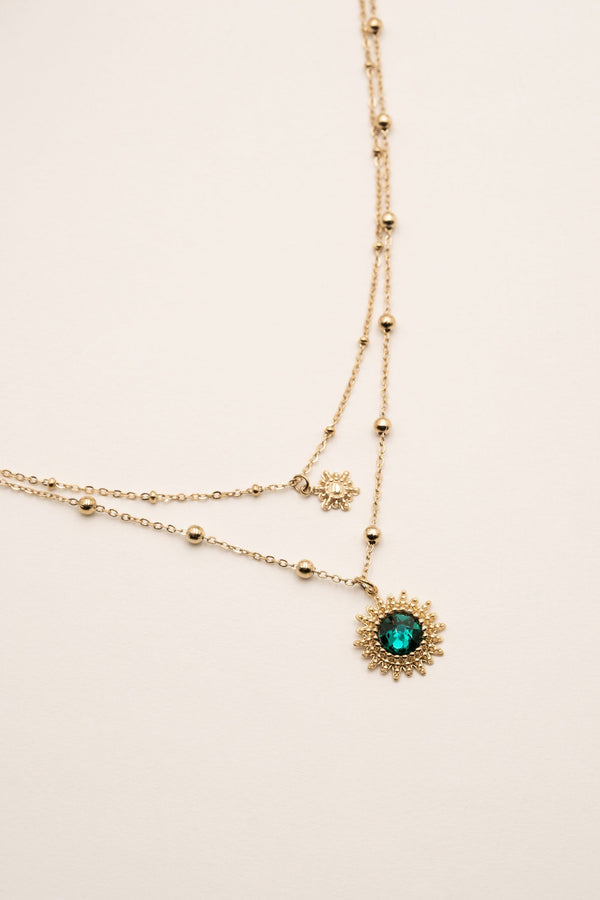 Collier Dao Collier Bohm Paris Emeraude