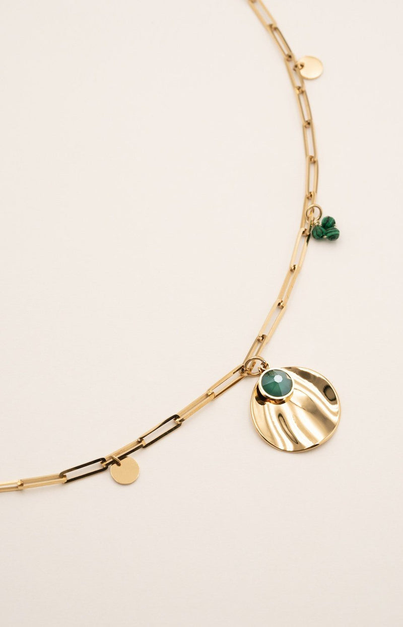 Collier Djéser Collier Bohm Paris Malachite
