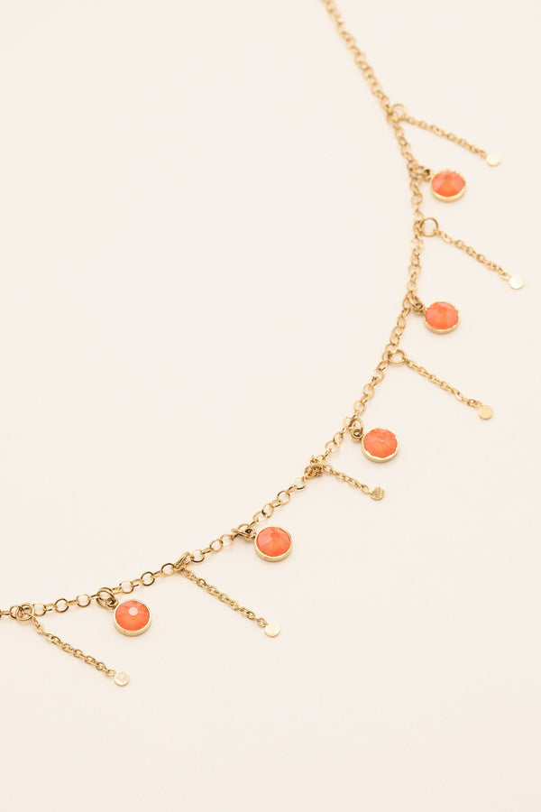 Collier Lupin Collier Bohm Paris Orange electric