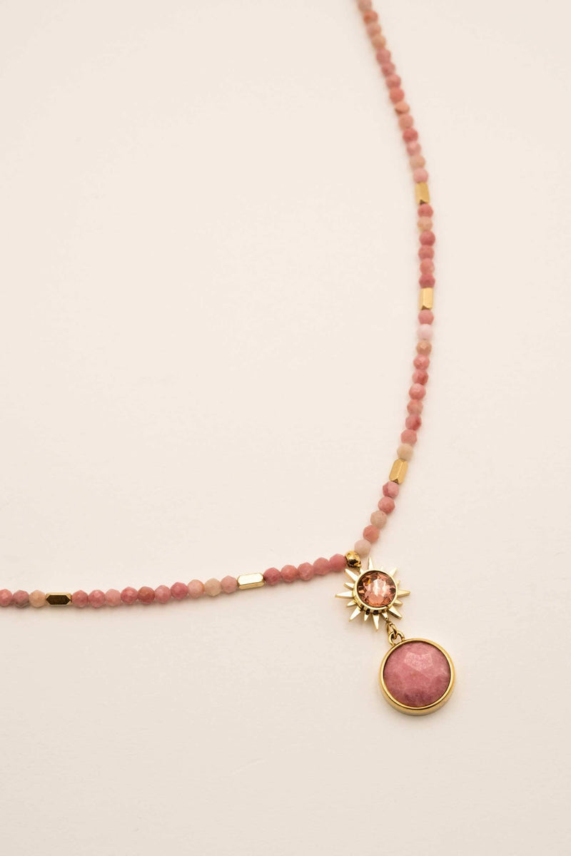 Collier Mathys Collier Bohm Paris rhodonite