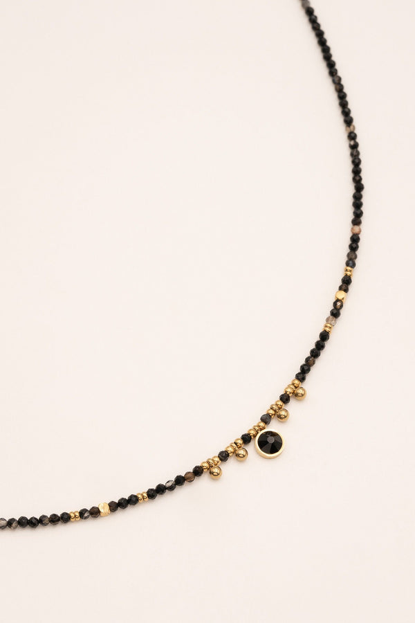 Collier Priam Collier Bohm Paris Agate noire
