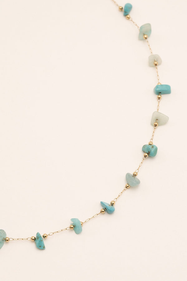 Collier Sawan Collier Bohm Paris Amazonite