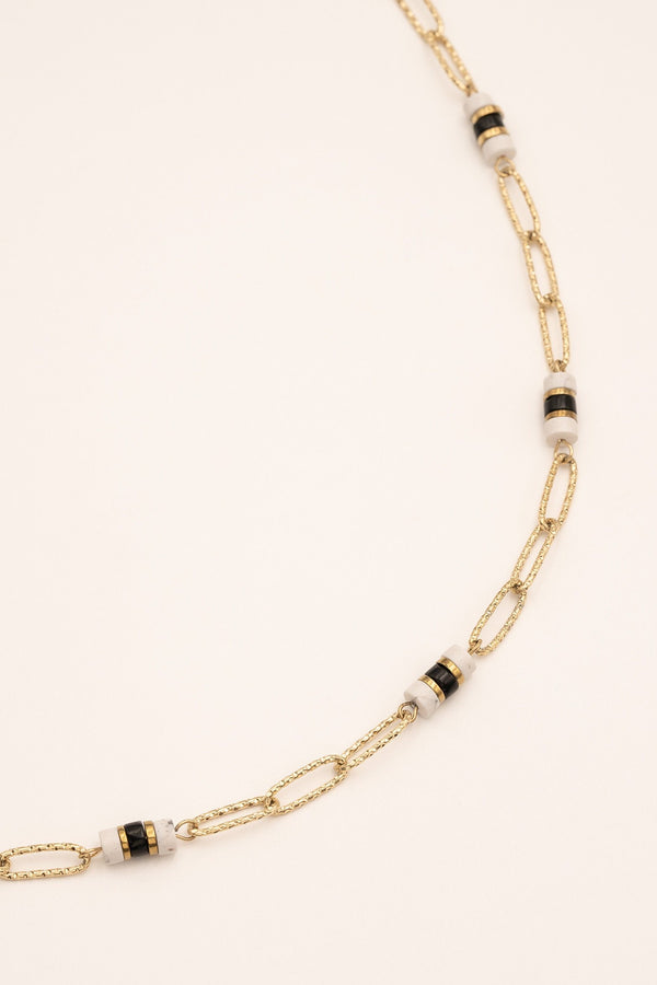 Collier Wildrief Collier Bohm Paris Howlite blanche
