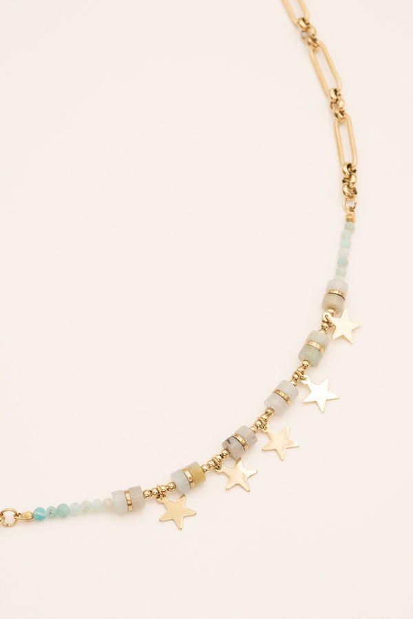 Collier Wilfry Collier Bohm Paris Amazonite