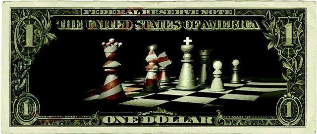 Game of chess with US Dollar