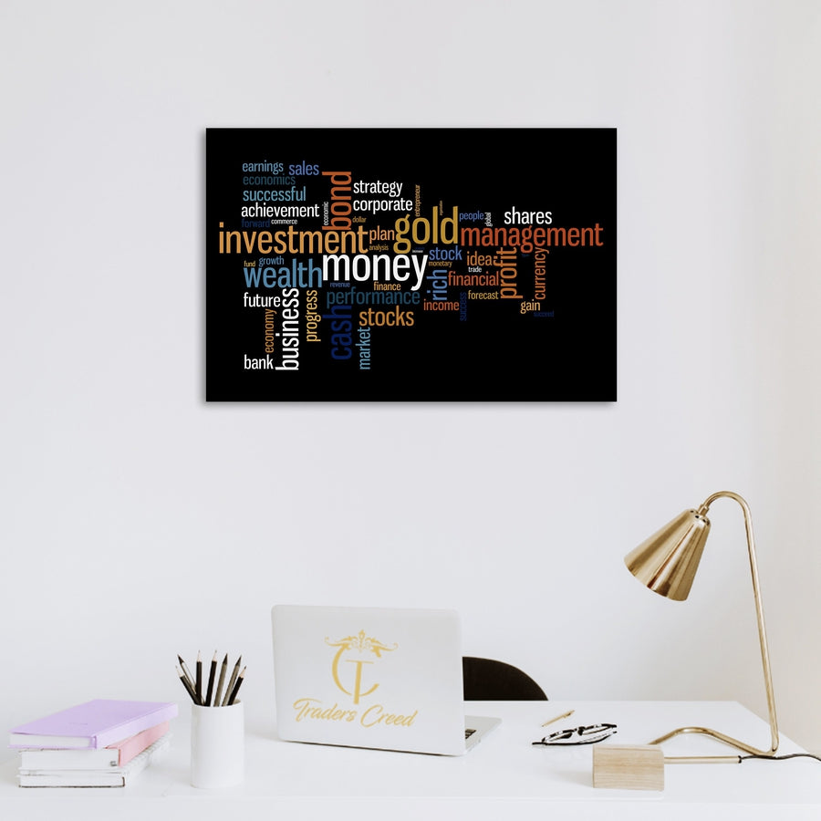 Investing Themed Wall Art