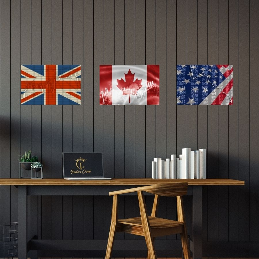 Patriotism Collection | Americans, Canadians, Britians