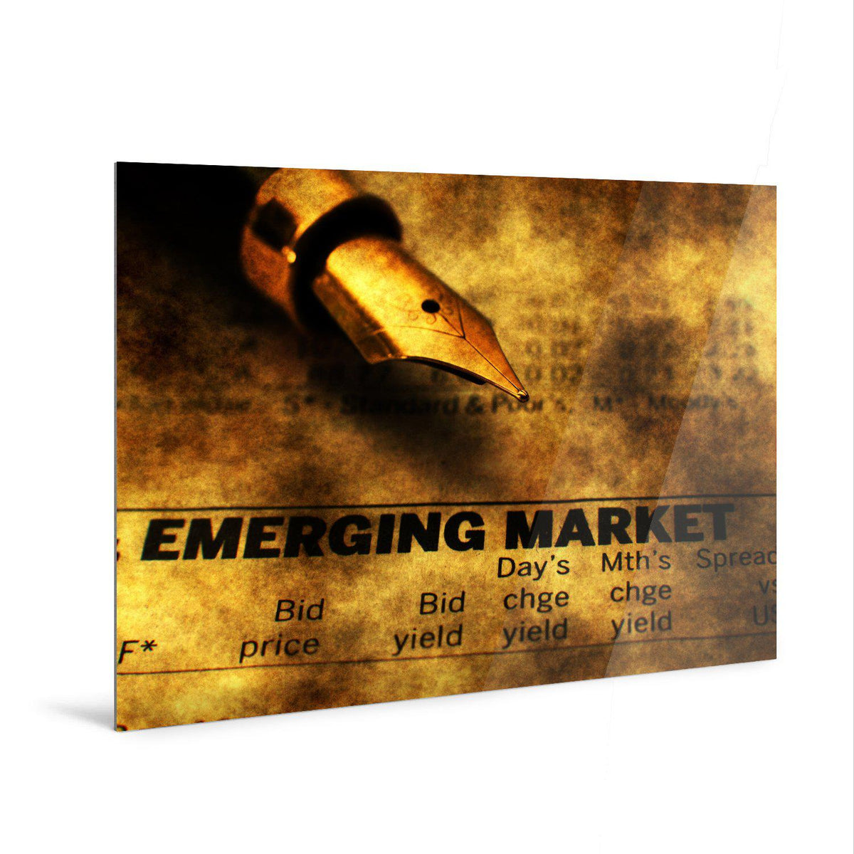 Emerging Markets Metal Wall Art