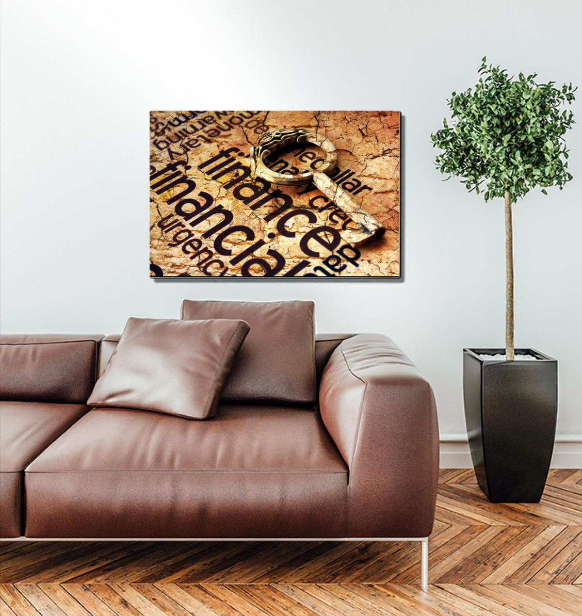 Financial Key Metal Wall Art