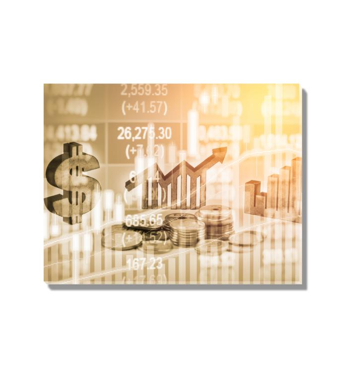 Foreign Exchange Markets Acrylic Wall Art